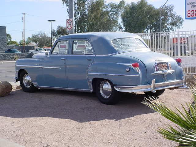 1949 Chrysler<br>New Yorker 4 door
