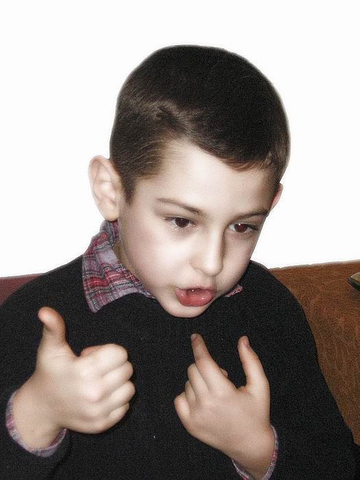 January 12,  Bogdan at exactly 8 years old