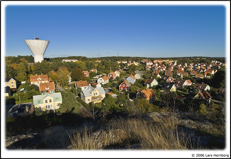 Nyköping with watertower