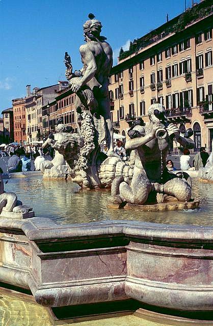 1996 roma piazza navona