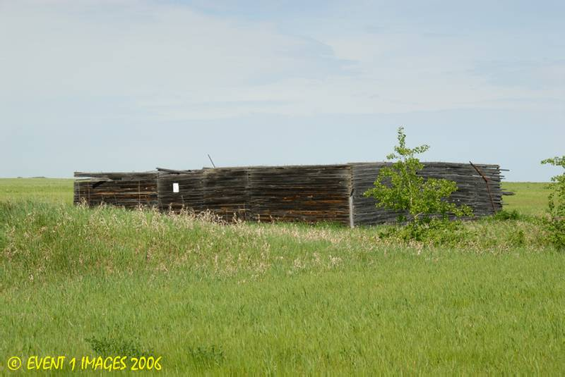 Remains of the Ardath SK Elevator May 2006