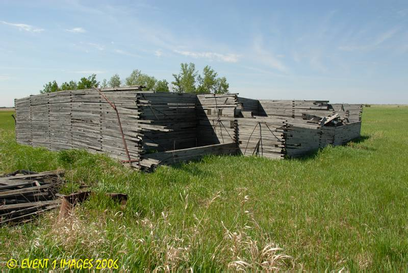 The Remains of the Ardath Sk Elevator  May 2006