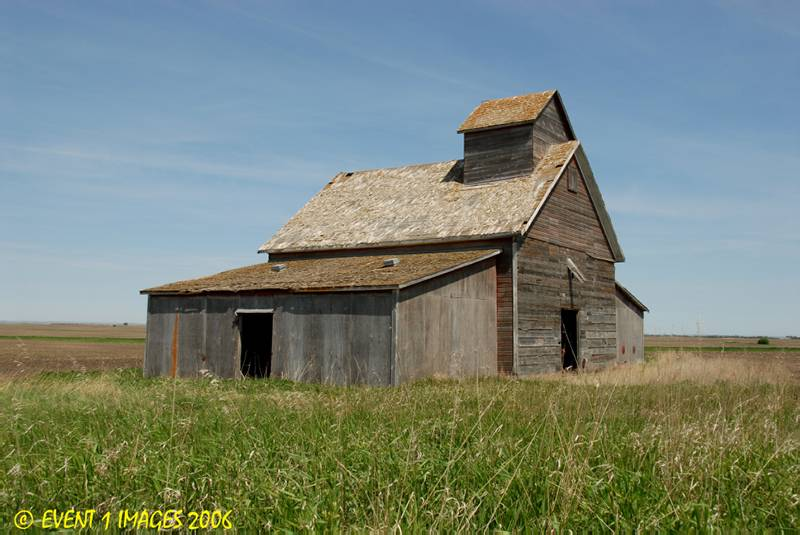 A Small Elevator On A Privite Farm East Of Tugaske SK May 2006