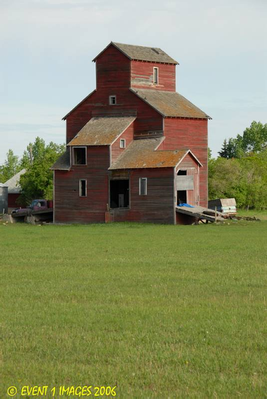On A Farm Northeast of Moose Jaw SK  May 2006