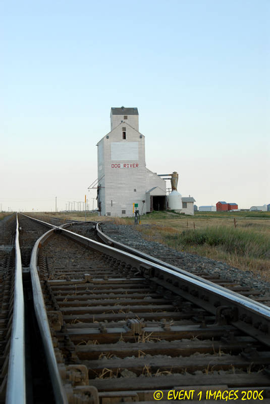 Early Evening At Rouleau SK Aug 2006.