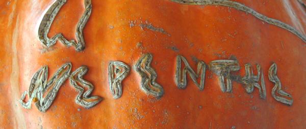 Pumkin Advertising Nepenthe Restaurant, near Point Lobos Park