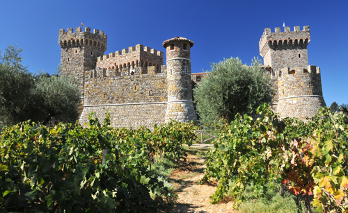 Castello di Amorosa, Rutherford Hill Winery