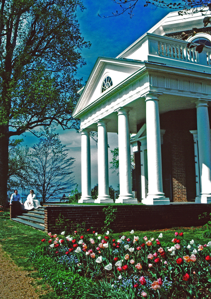 Monticello — Jeffersons Home; Central Virginia
