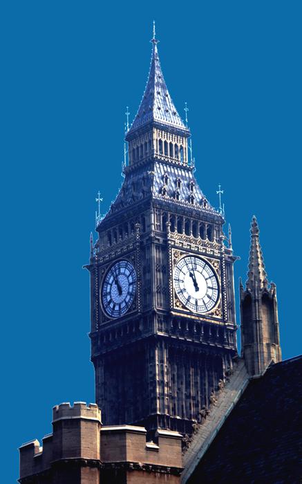Big Ben Tower; London, England