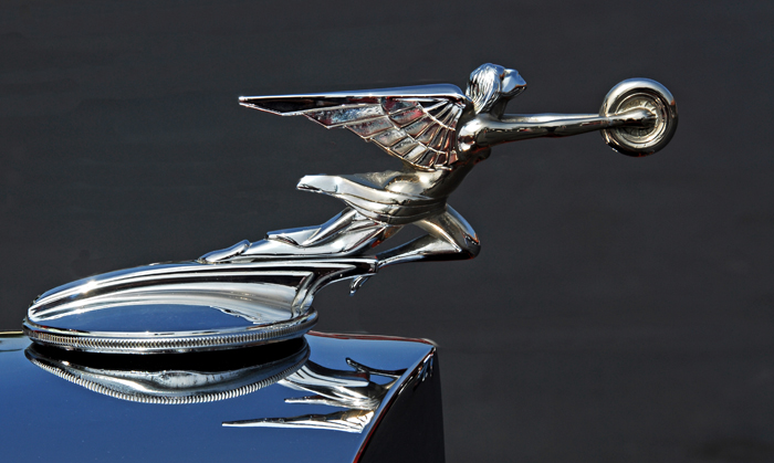 Ornament on 1934 Packard