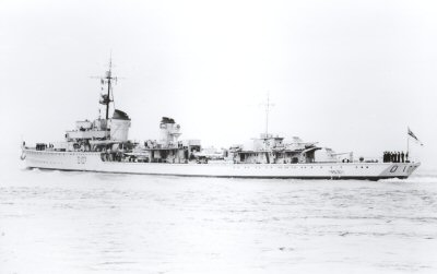 HMS NONSUCH - 1947