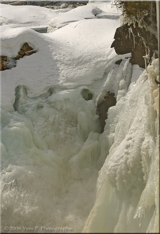 Dorwin Falls with Indian head ...