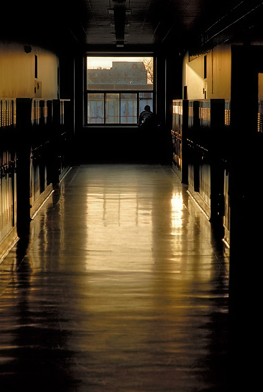 Lonely in the hall ...