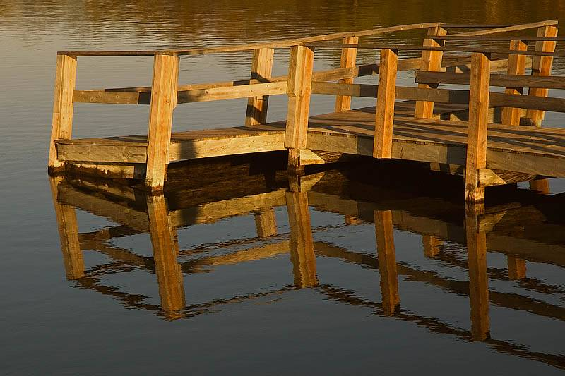 Mill Pond Fishing Pier  ~  May 5