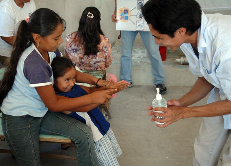Introducing Hand Sanitizer as a safe hygiene practice
