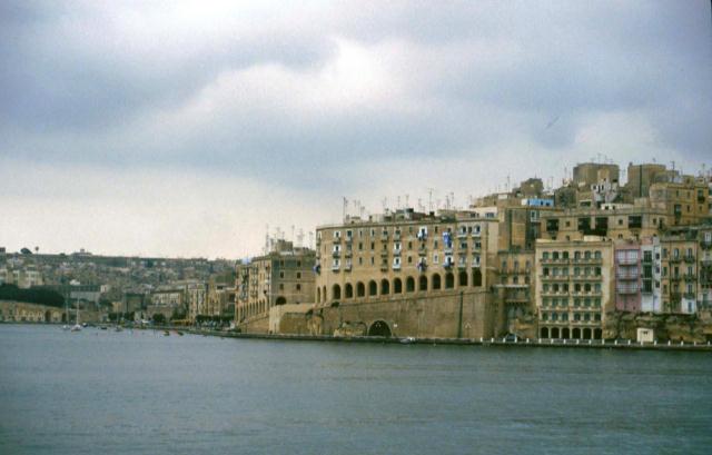 Valletta from Harbour