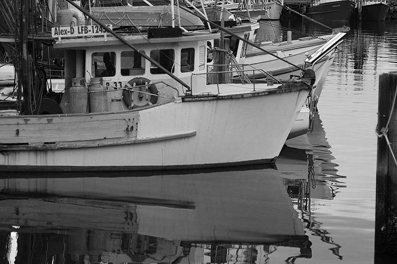 Boats moored Iluka