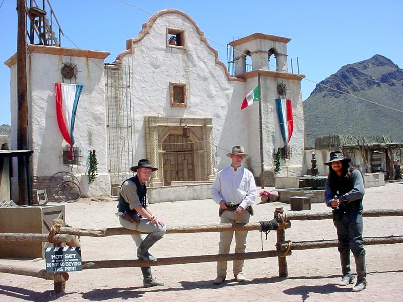 Old  Tucson -church-