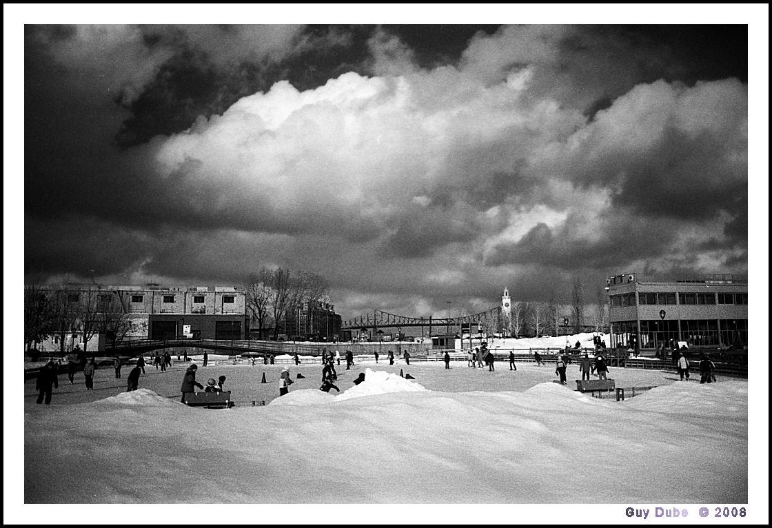 Skating at the Old Port