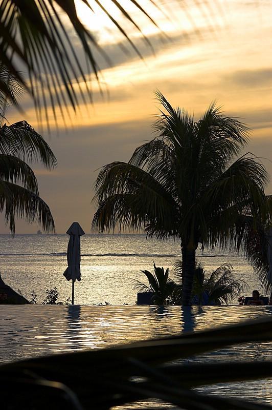 Le Victoria Hotel sunset
