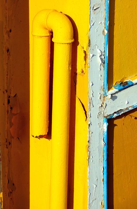 Yellow pipe