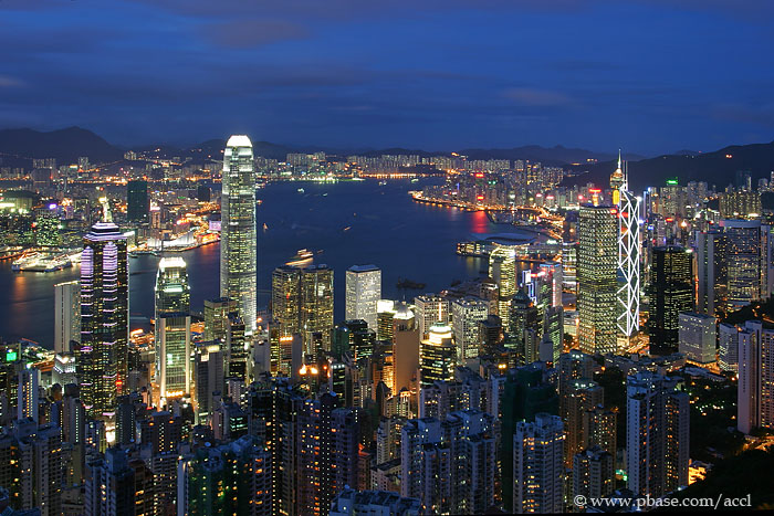The best view of Hong Kong from the Peak