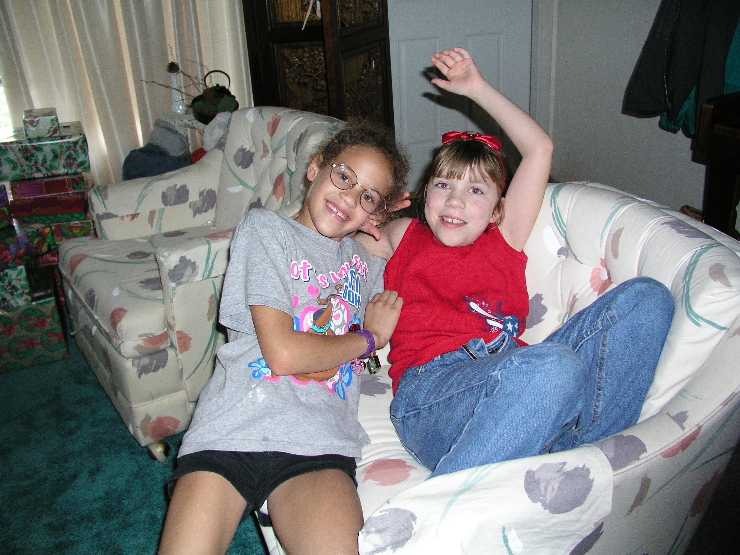 Amanda and Emily