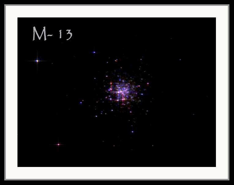 Globular Cluster M13 -- Taken on 8/13/2006
