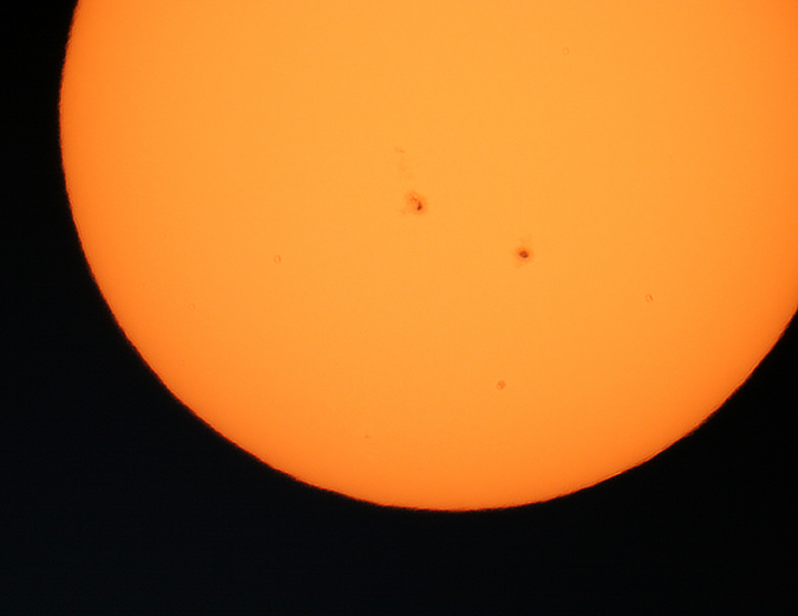 Two Sunspots