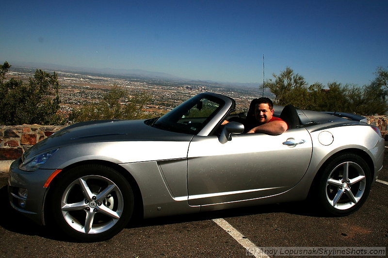 Me at Dobbins Lookout in Phoenix (March 27, 2009)