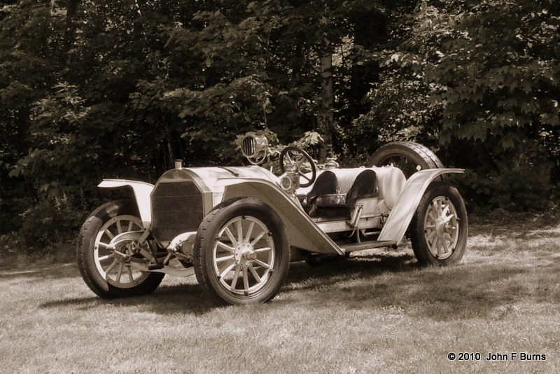 1911 Mercer Raceabout - Sepia