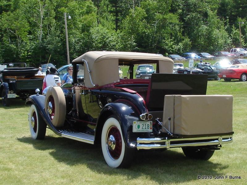 circa 1929 Packard Convertible Coupe
