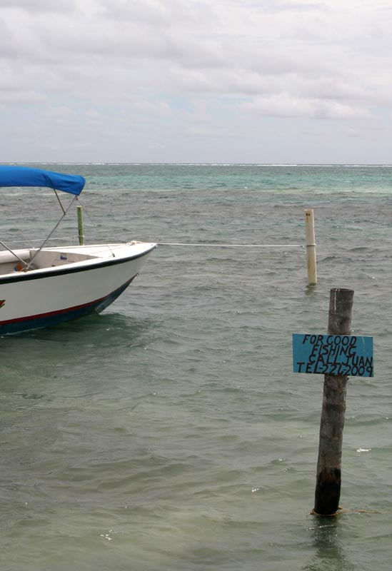 For Good Fishing, Call Juan