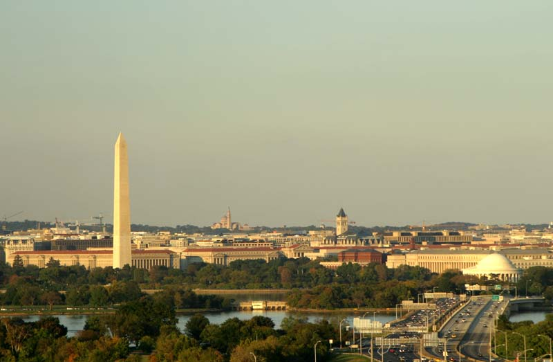DC at Sunset