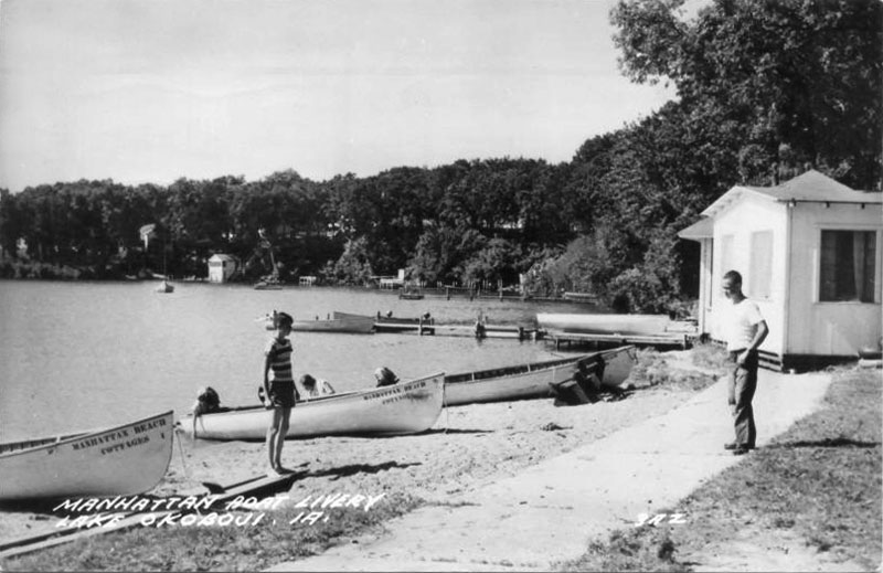 Manhattan Boat Livery 1953
