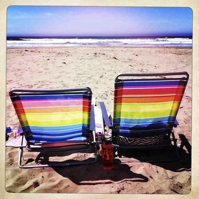 Beach Chairs, Cayucos