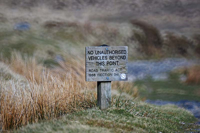 No Unauthorised....