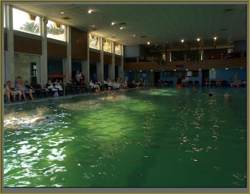 Tiberias hot springs pool
