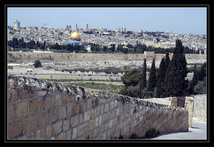 Old city and the wall