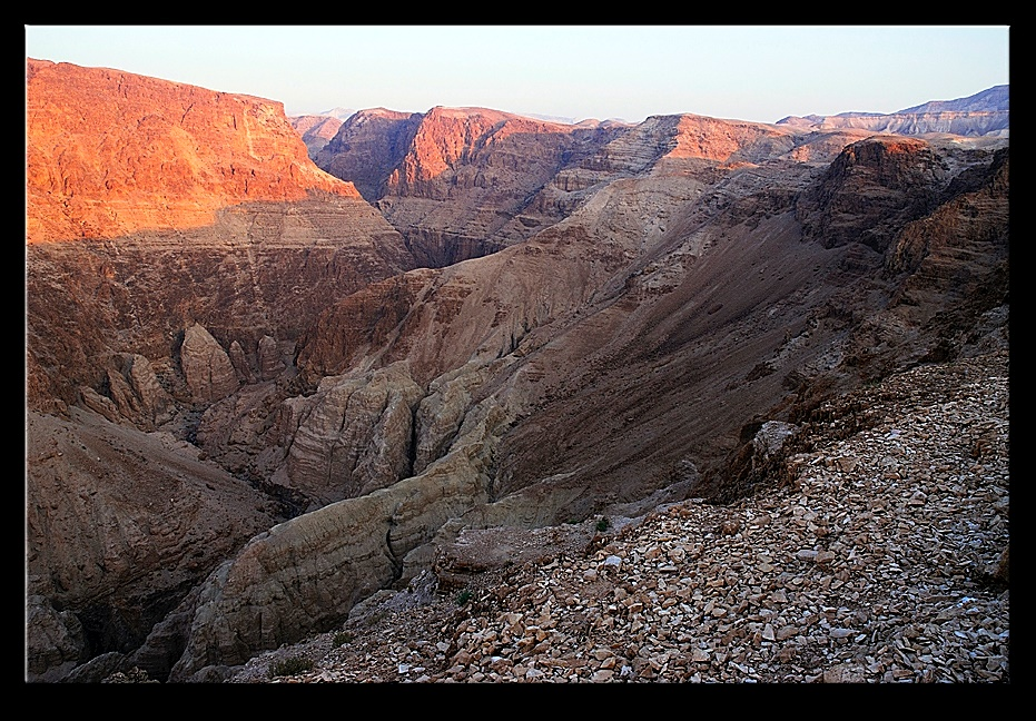 Sun rise over the Judean desert