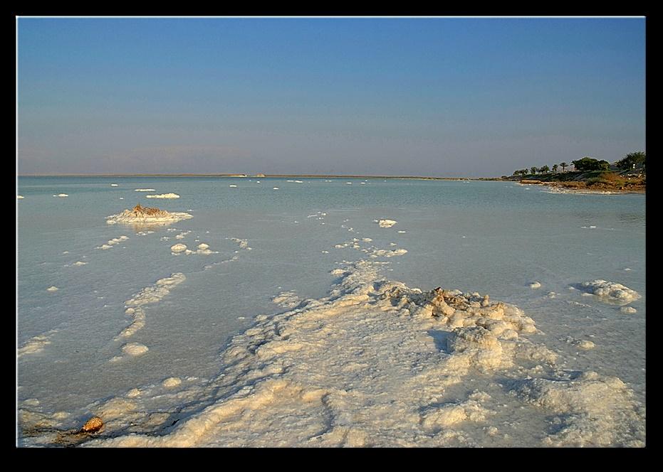 Islands of salt