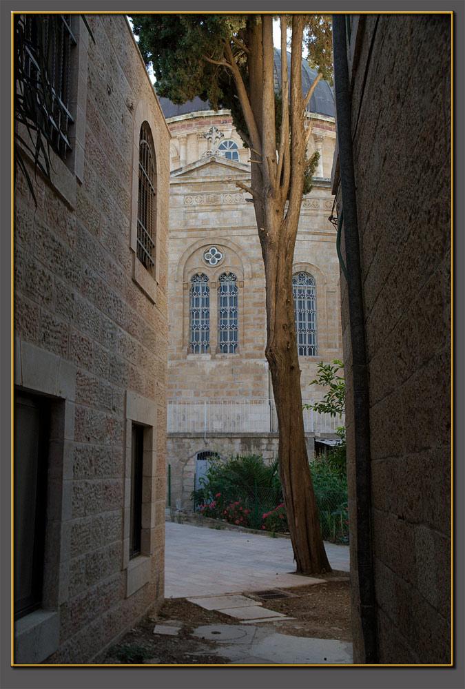 The Ethiopian church, Jerusalem