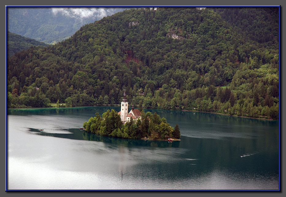 Lake Bled and the tiny island