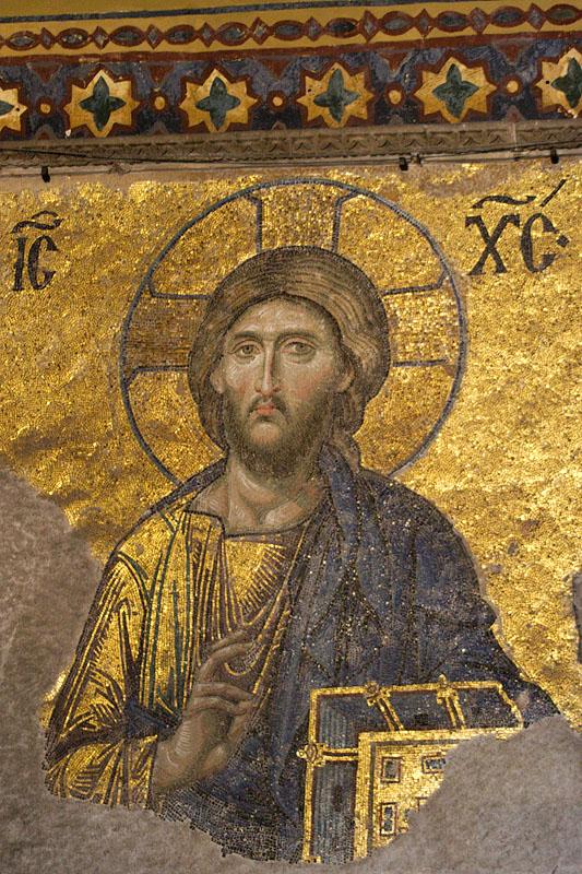 Jesus, Aya Sofya