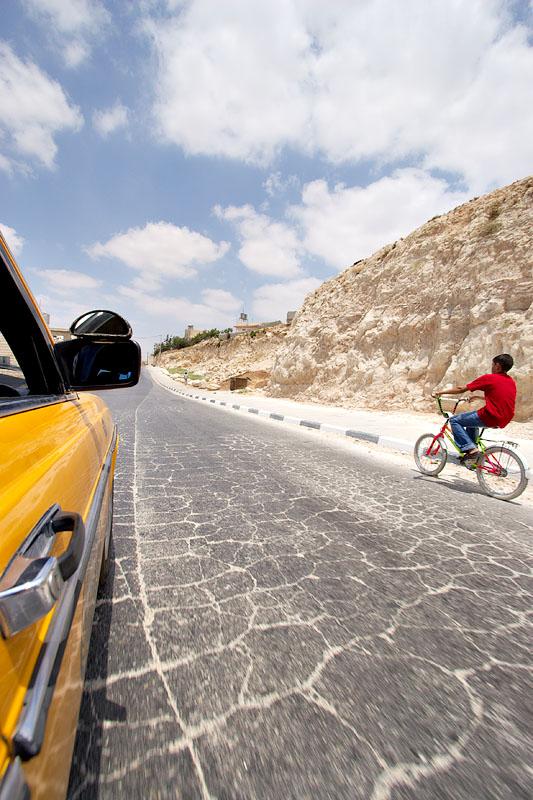On the road - Bethlehem Abu Dis road