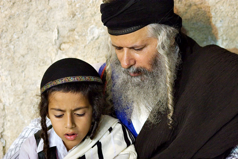 Learning to pray - Jerusalem