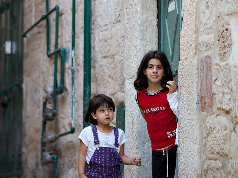 Two girls- Jerusalem