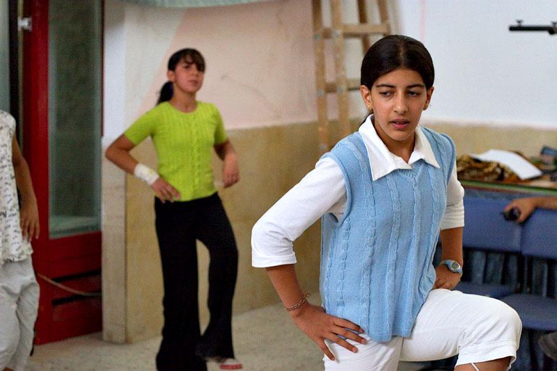 Dance practice - Bethlehem