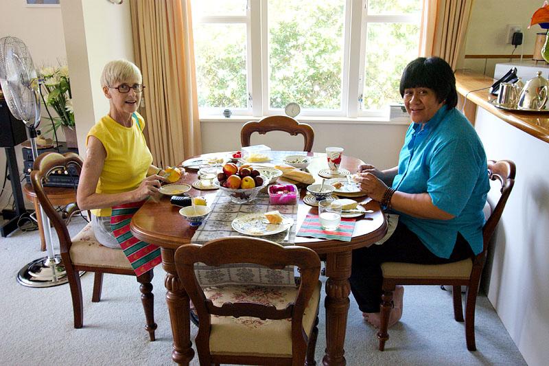 Mum and Naomi