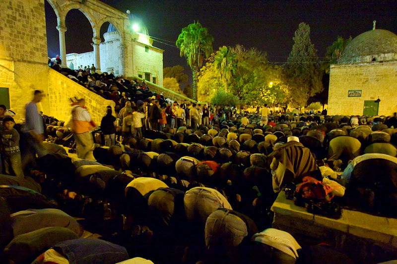 Laylat al-Qadr prayers - Jerusalem